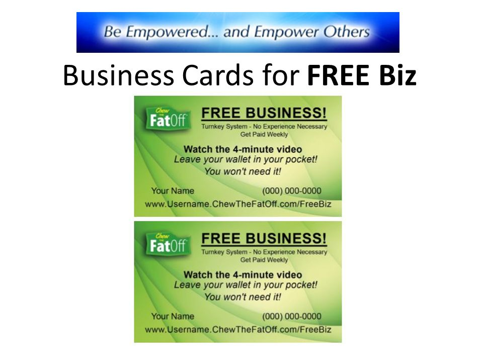 Welcome To Your Free Online Business Ppt Video Online