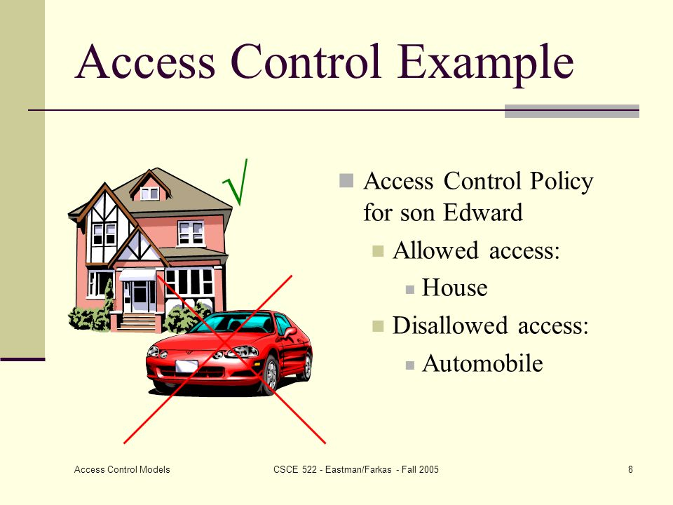 What is access control discretionary access control dac for Access control policy template