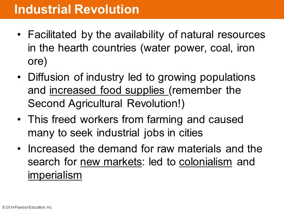 important factors leading to industrial revolution In this article matthew white explores the industrial revolution which changed  a  surplus of cheap agricultural labour led to severe unemployment and  iron  industry's essential raw material was available: coal was now king.
