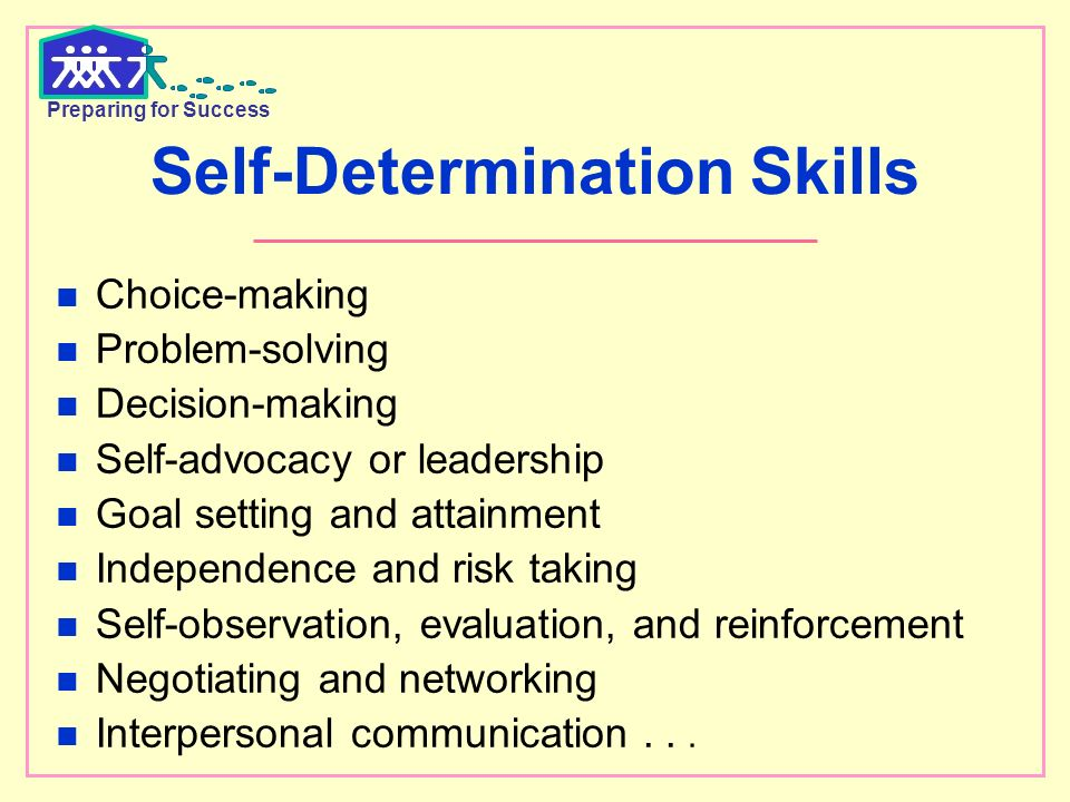 Ways to Increase Self-Determination Skills in Students   Education ...