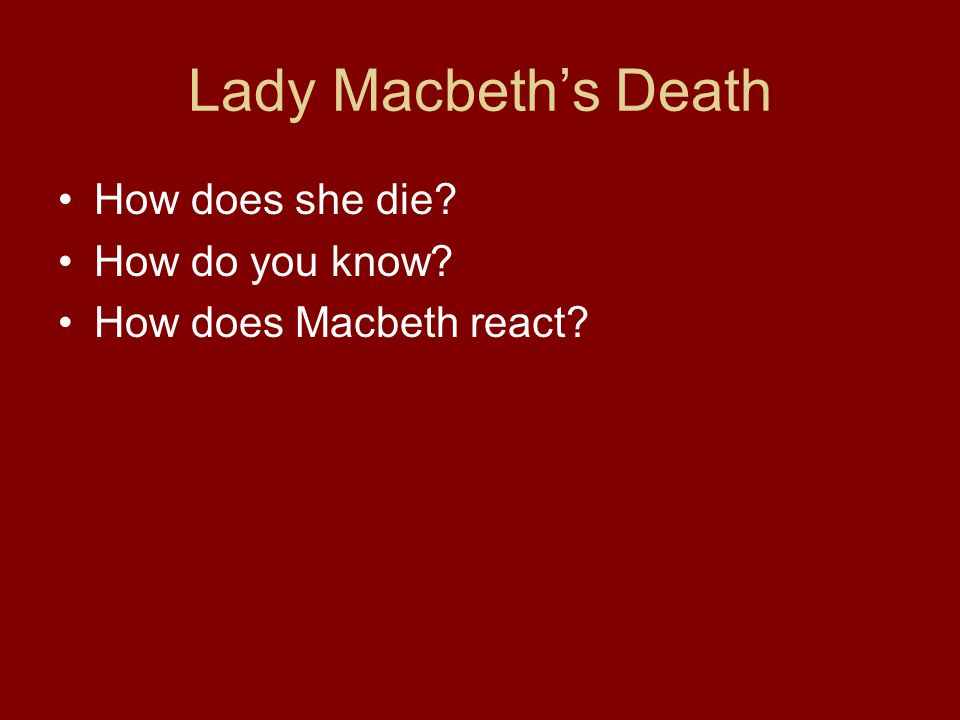 lady macbeth quotes that show how she has changed through out the play Lady macbeth's character changes throughout the play macbeth in the shakespearian play macbeth lady macbeth is a very significant character written in the 17th century but set in 1050, she was ahead of her time.