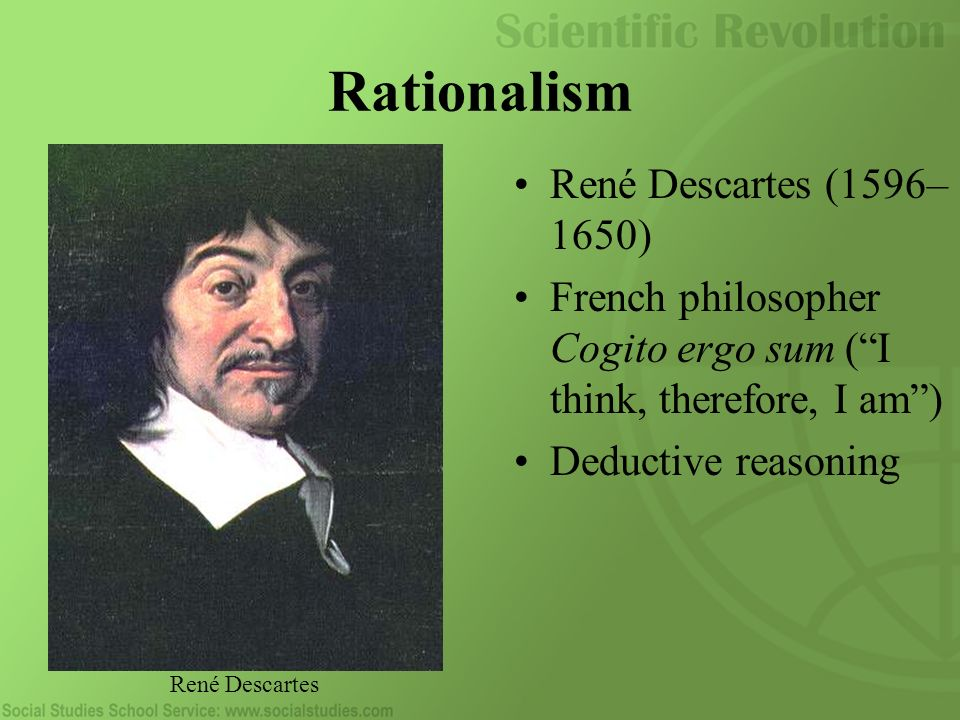 rene descartes rationalism 📃rene_ descartes,usually called the 'father of modern philosopher' 📃 📃 in the past three hundred years , two school of philosophy have come to dominate much.