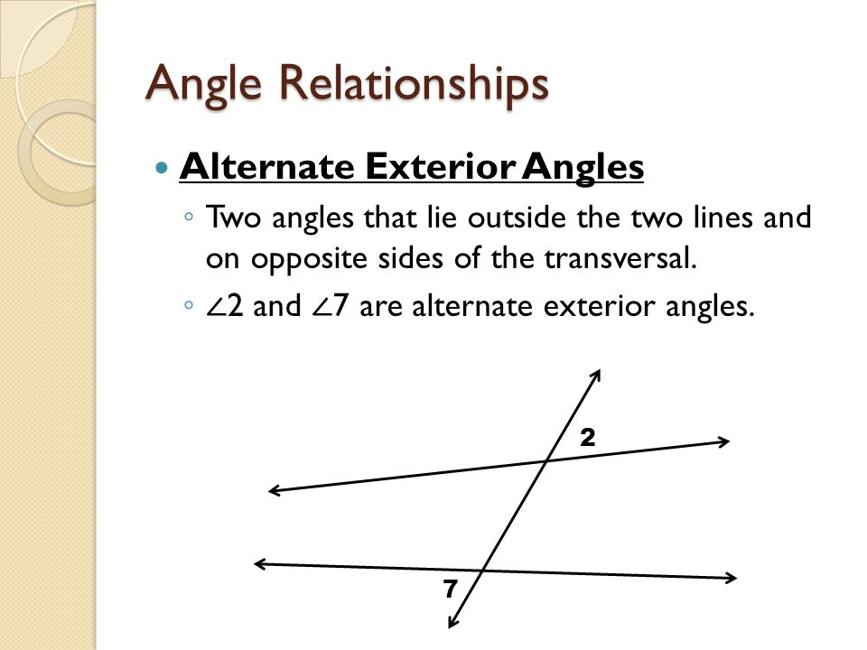 3 1 And 3 2 Parallel Lines And Transversals Ppt Video Online Download