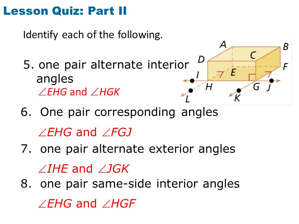Chapter 3 1 Lines And Angles Ppt Download