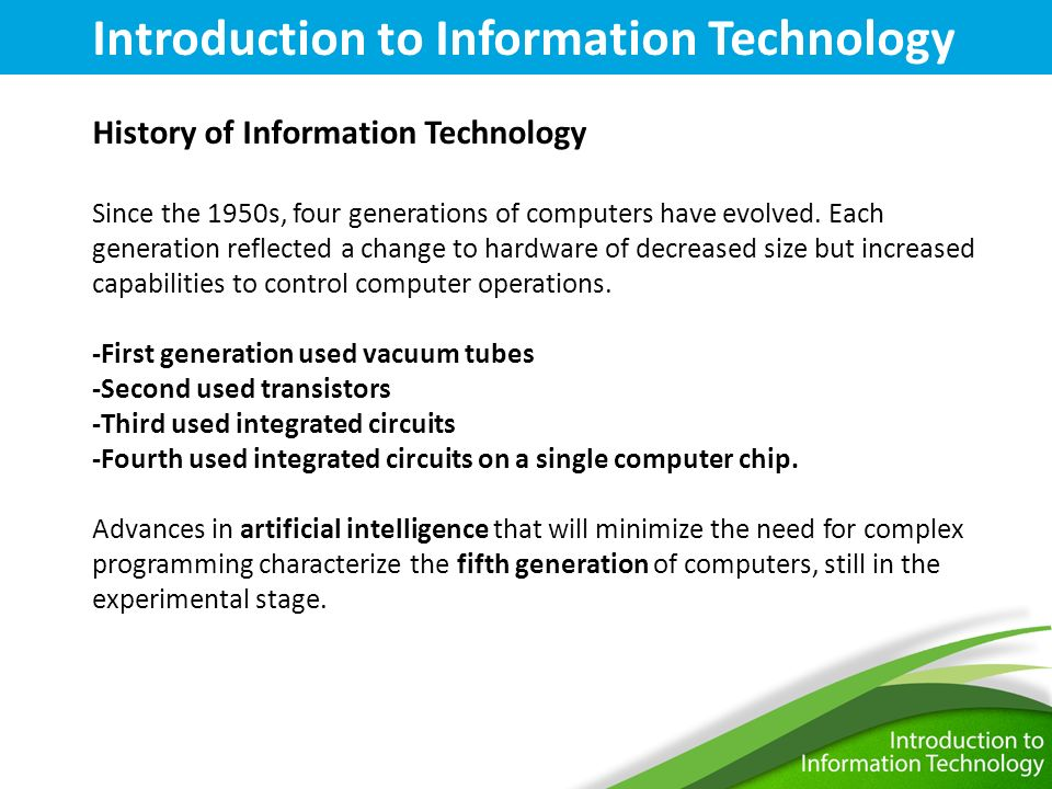 an introduction to the fifth generation computers Japan undertook its ambitious fifth generation computer project in the 1980s  during this difficult  coming decades the introduction of a new type of  computer.