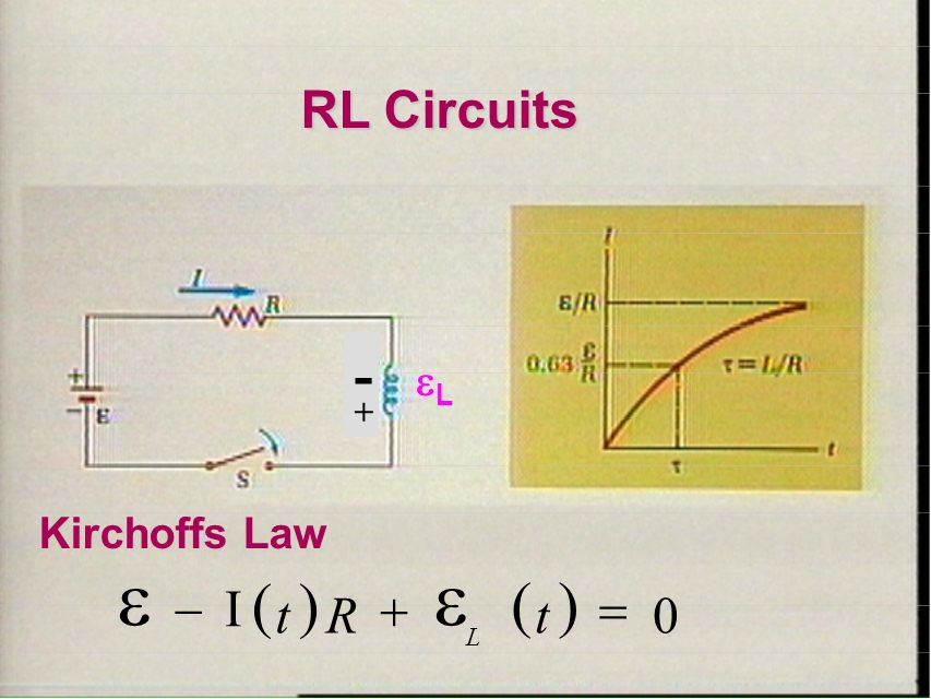 inductors in rl circuits - 28 images - inductance self ...