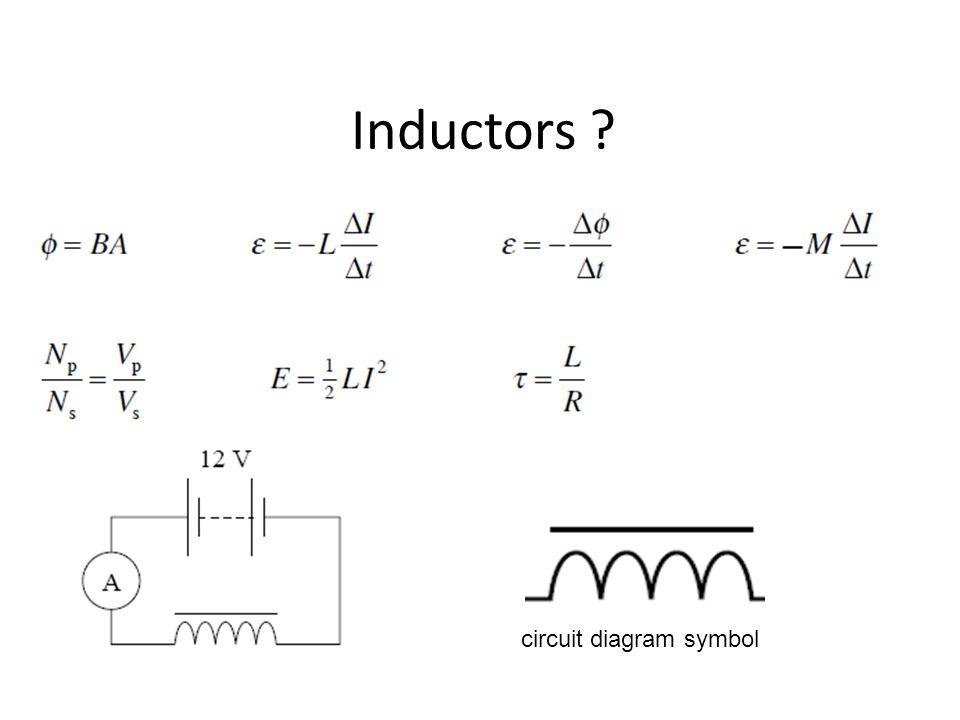inductors circuit diagram symbol ppt video online download rh slideplayer com AC Inductor Design inductor joule thief circuit diagram
