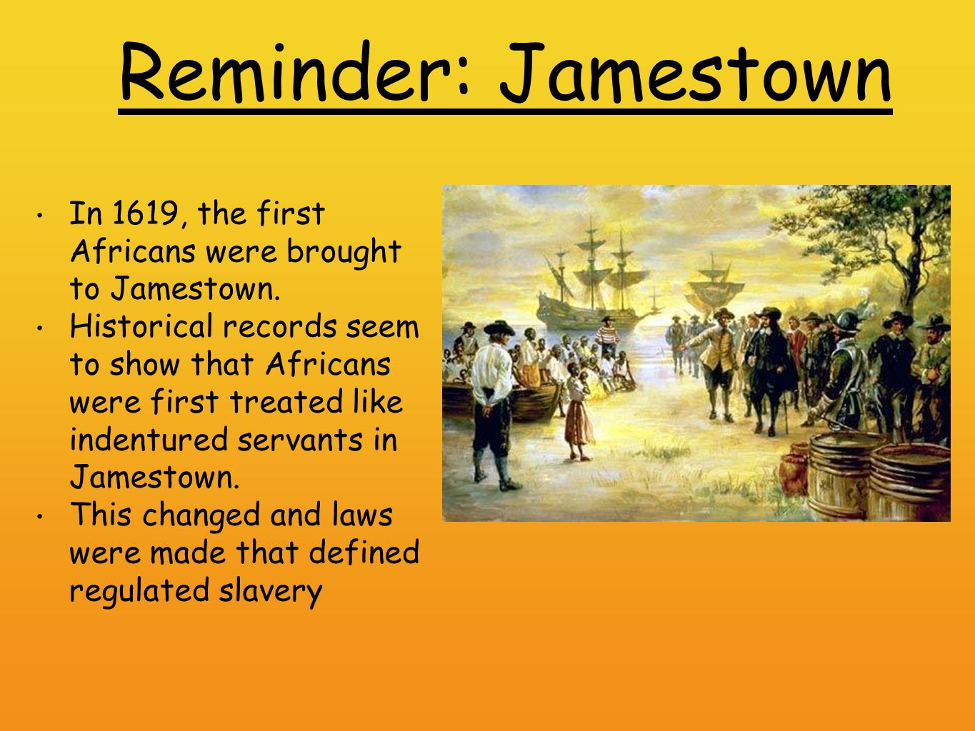 the laws in jamestown Its somewhat limited role was to work with the governor and council to form laws for the colony first published in 1946 with the d'aulaires's beautiful lithographic prints, this tale of the first colony at jamestown is told from the perspective o.