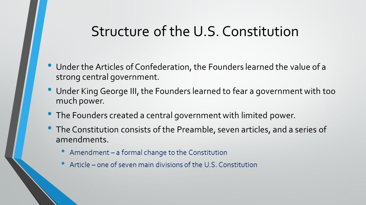 an introduction to the us constitution and the article five Pu zengyuan,a comparative perspective on the united states and chinese constitutions  introduction the chinese and the the united states constitution enjoys.