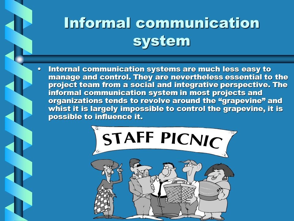 internal communication system To put in place a mechanism to audit internal and external communication within the trust and to act on the findings.