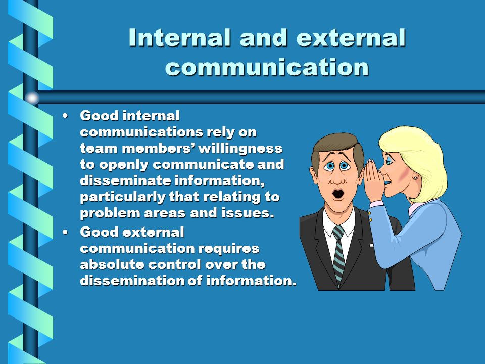 Organizational Communications (Internal and External)