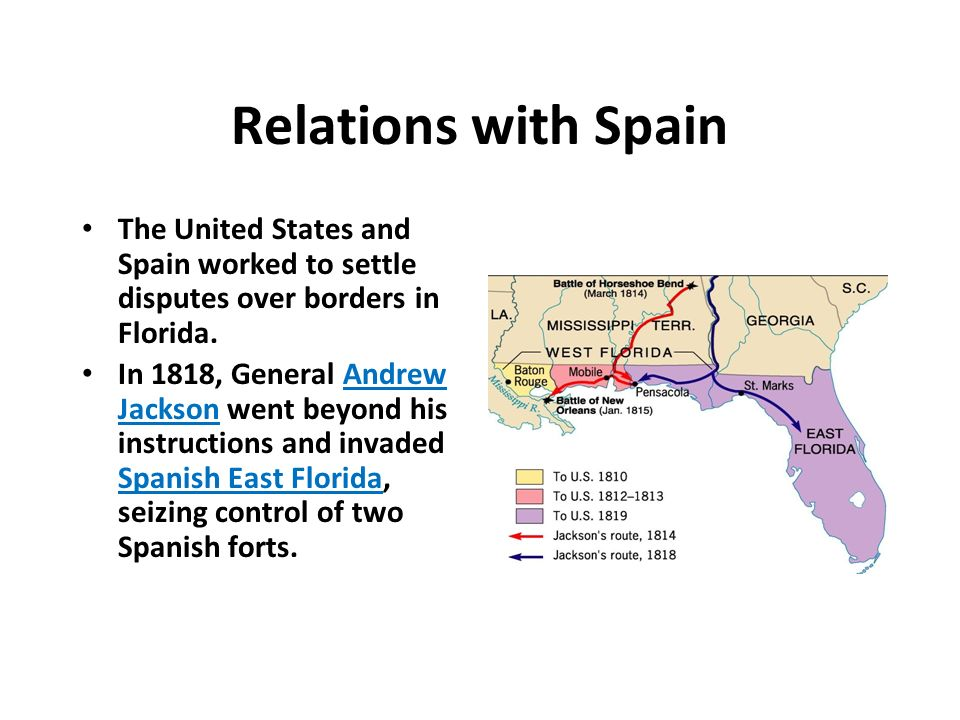 Chapter Foreign Affairs In The Early Republic Ppt Download - Is florida part of the united states