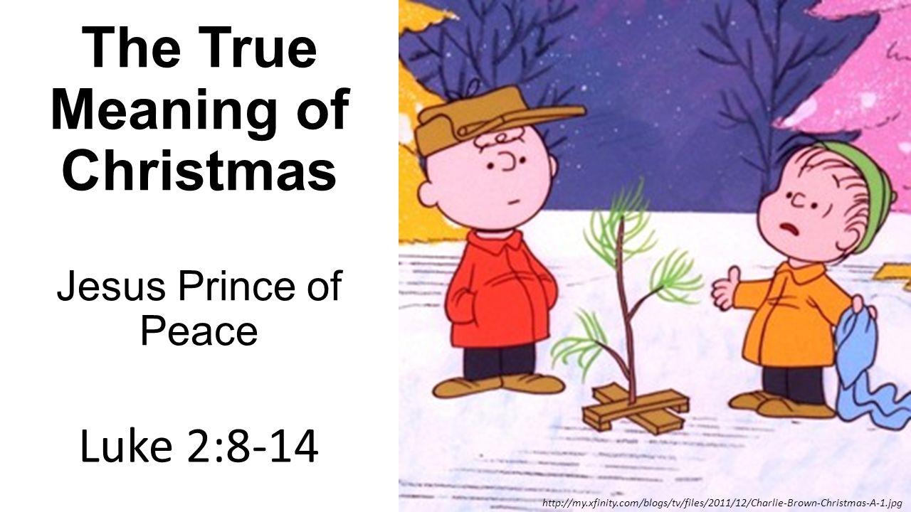 the true meaning of christmas jesus prince of peace - True Meaning Of Christmas