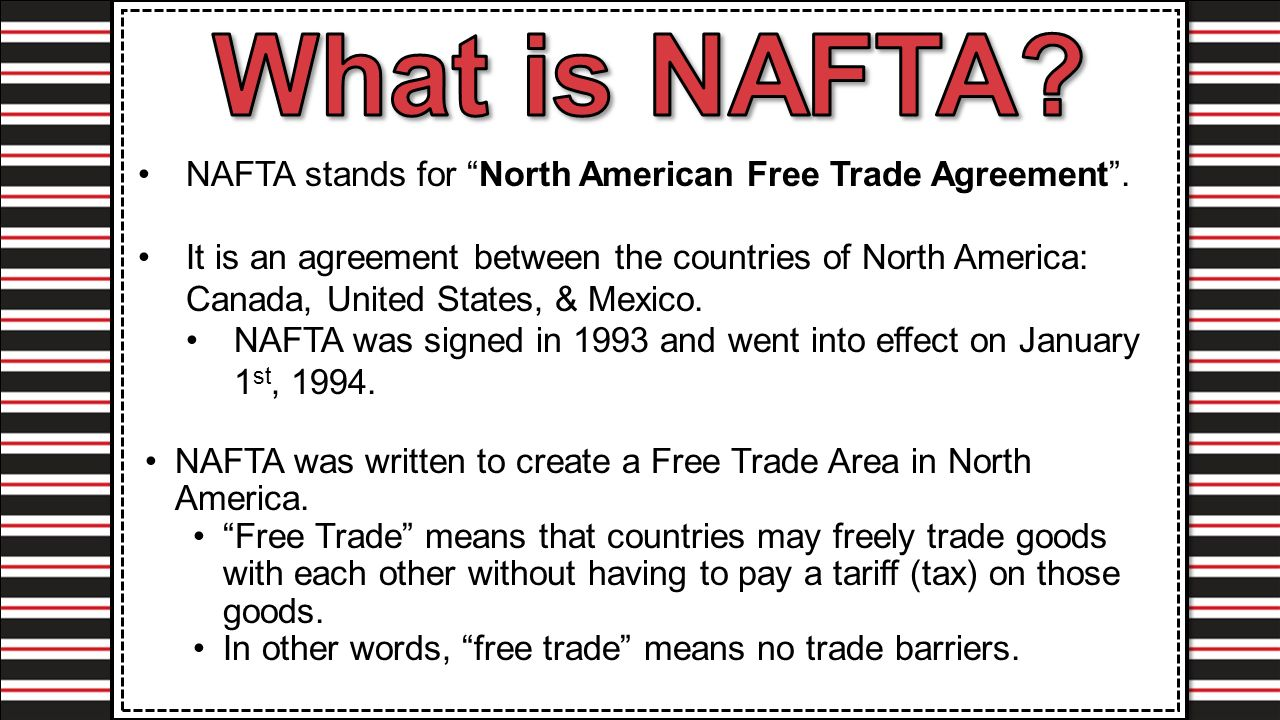 an evaluation of the impact of the north american free trade agreement nafta After seven rounds of negotiations, the future of the north american free trade agreement (nafta) is uncertain.