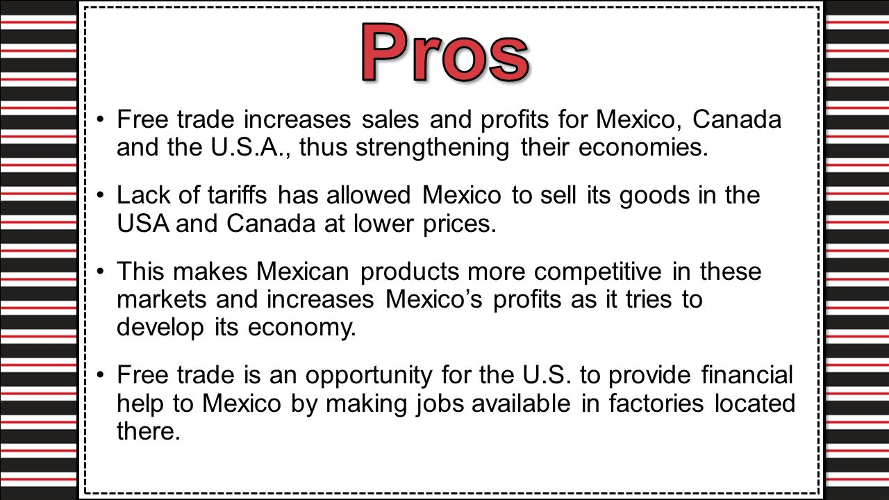 pros and cons of maquiladoras Investors and manufacturers throughout mexico, canada, and the us must  consider their advantages and disadvantages compare north.