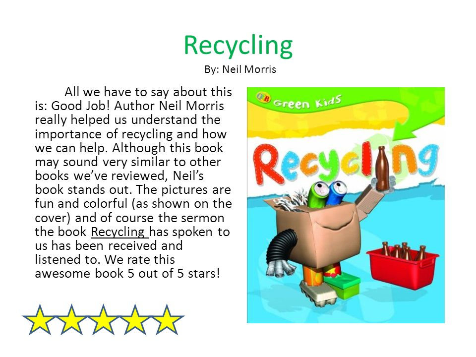 The importance of educating the public about recycling
