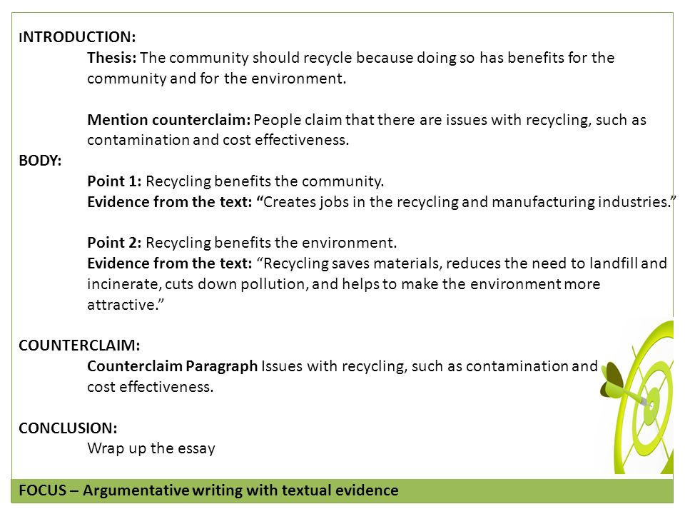 benefits of recycling 2 essay But perhaps the most valuable benefit of recycling is the saving in energy and   the most common types, pet (type 1) and hdpe (type 2), are.
