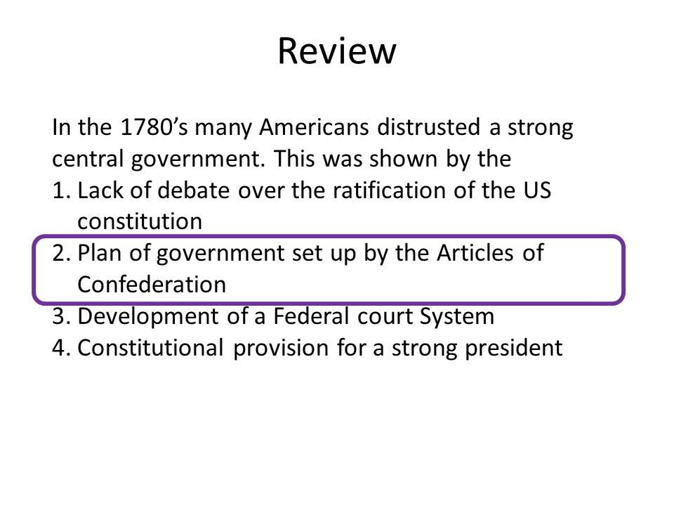 16a. Federalists