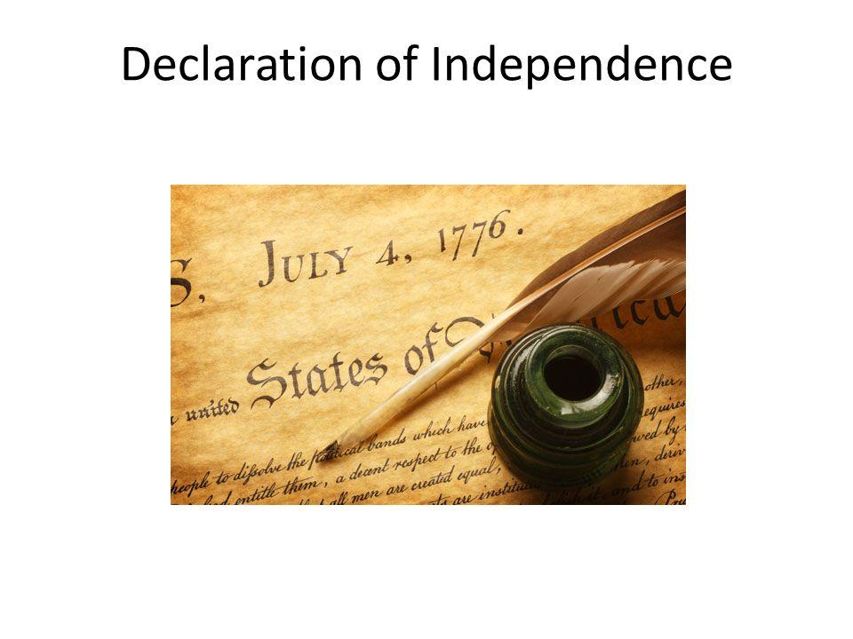 Declaration of independence essay prompts