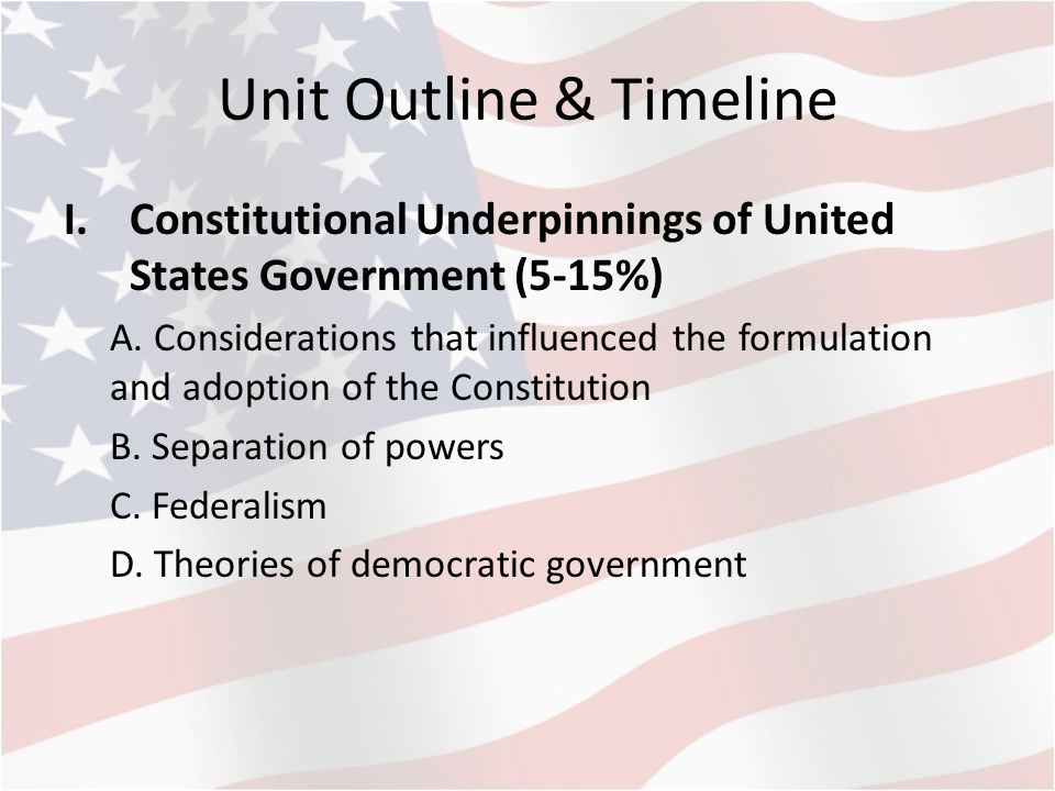 the constitution unity or disunity essay