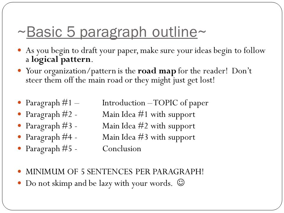 when would a 5 paragraph essay be the best format for writing a paper Timed essays  guidelines & writing help the most simple essay format, and hence the best format for a timed essay, is the traditional 5-paragraph format we all.