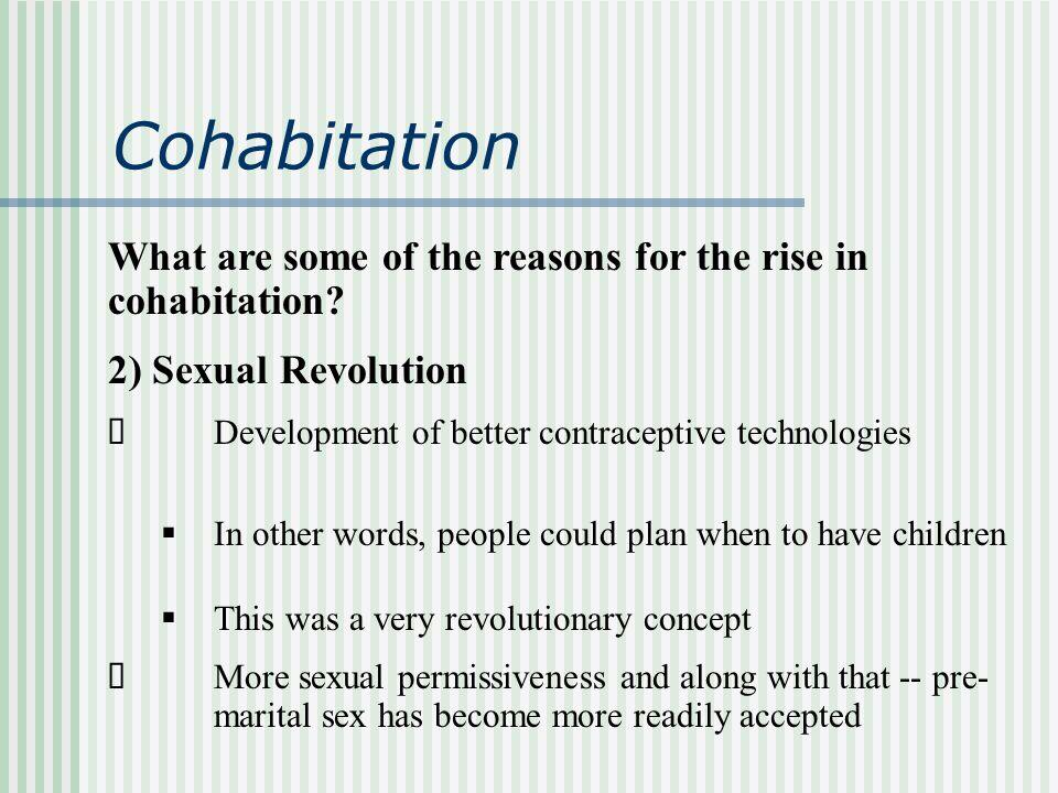 disadvantages of cohabitation
