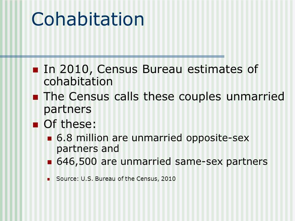 Gay marriage statistics census bureau