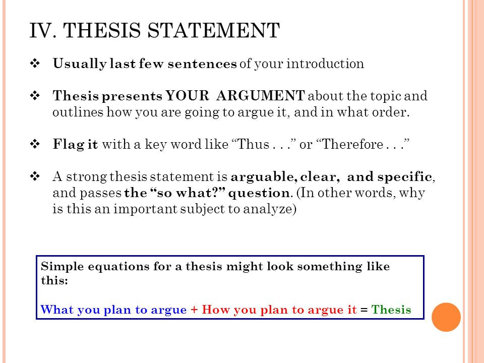 introduction with thesis statement essay The introduction the introduction to your literary analysis essay should try to capture your reader for a 500-750 word essay) that support your thesis statement.