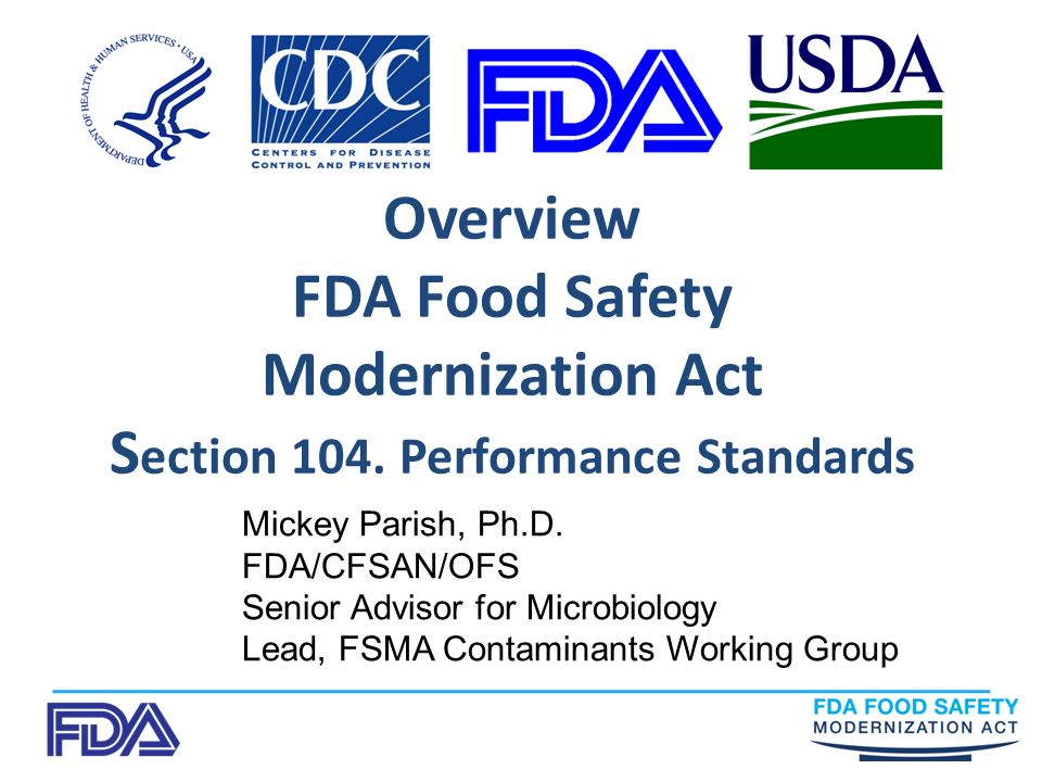 What Is Food Safety And Standards Act