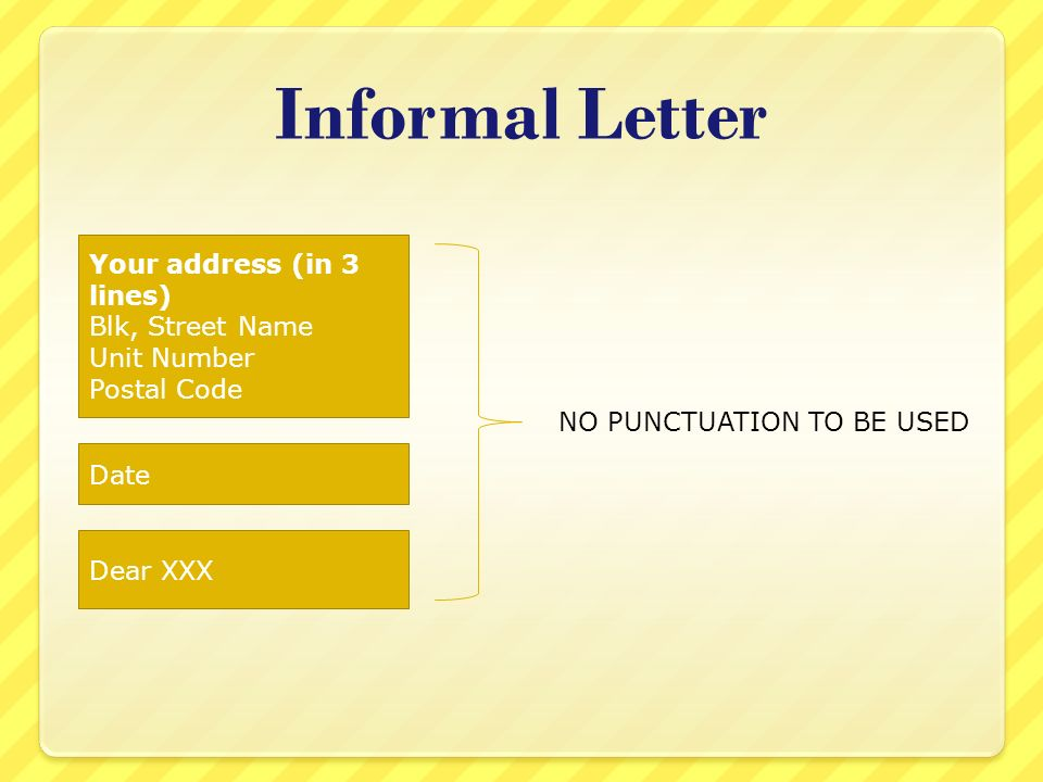 Address A Letter With Unit Number
