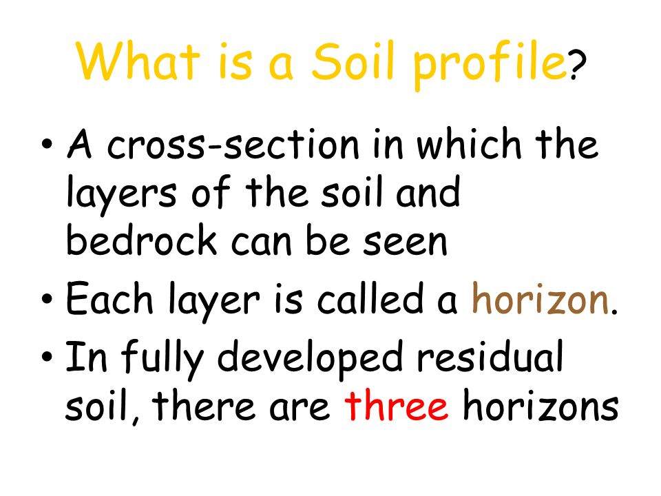Soils soil formation the results of weathering ppt for What is important to know about soil layers