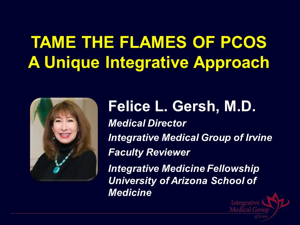 TAME THE FLAMES OF PCOS A Unique Integrative Approach