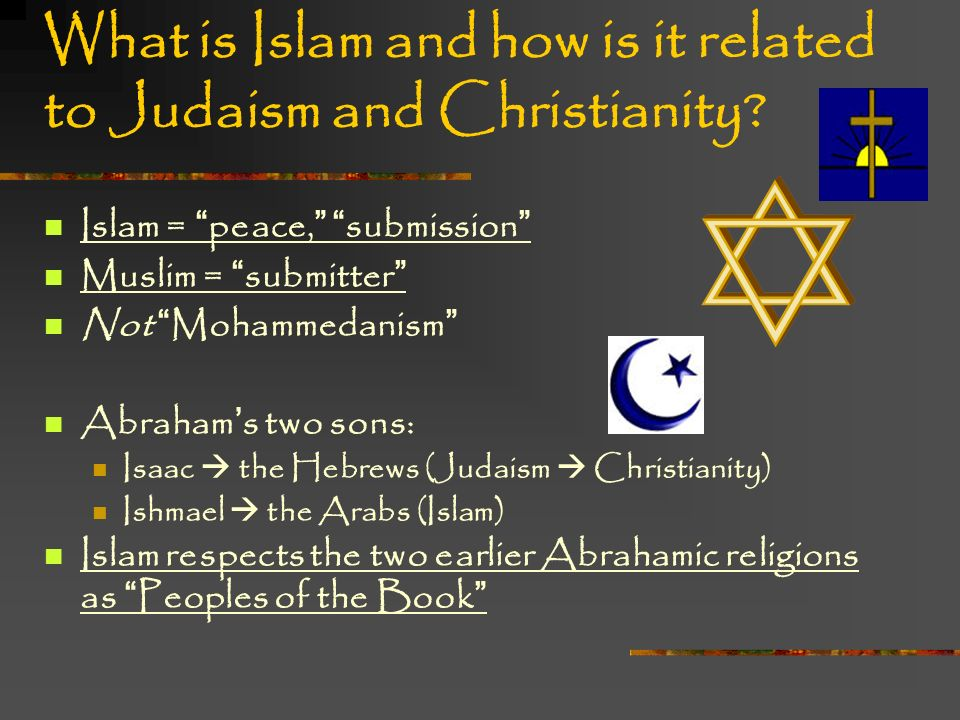 views about jesus in relation to judaism christianity and islam 'the islamic jesus' seeks commonalities between christianity, judaism, islam turkish journalist mustafa akyol presses his case about just how relevant jesus is to his faith today.
