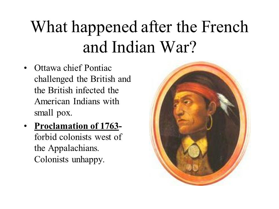 the events after the french and indian war Articles in the timeline of british acts on america category  french and indian war 1754 - albany congress  war of independence.