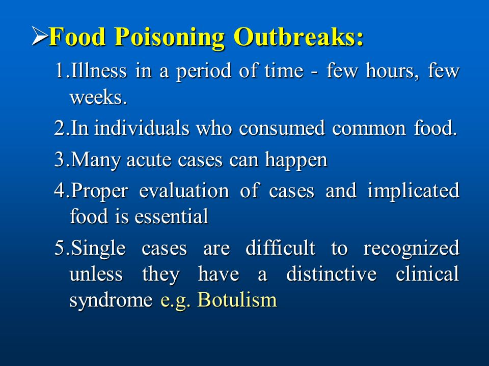ppt food poisoning Food poisoning symptoms may range from mild to severe and may differ depending on the germ you swallowed the most common symptoms of food poisoning are: the most common symptoms of food poisoning are.