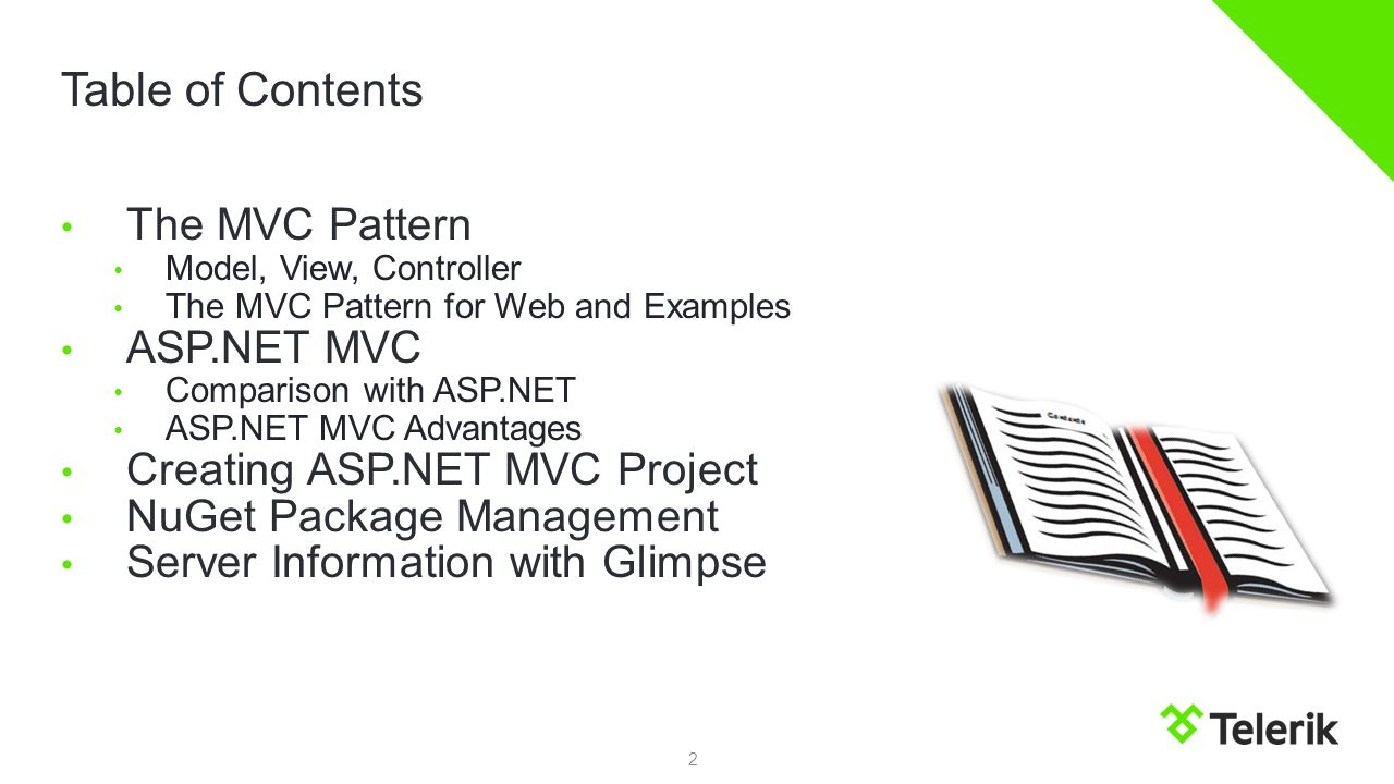 Asp mvc telerik academy ppt video online download table of contents the mvc pattern asp mvc baditri Choice Image