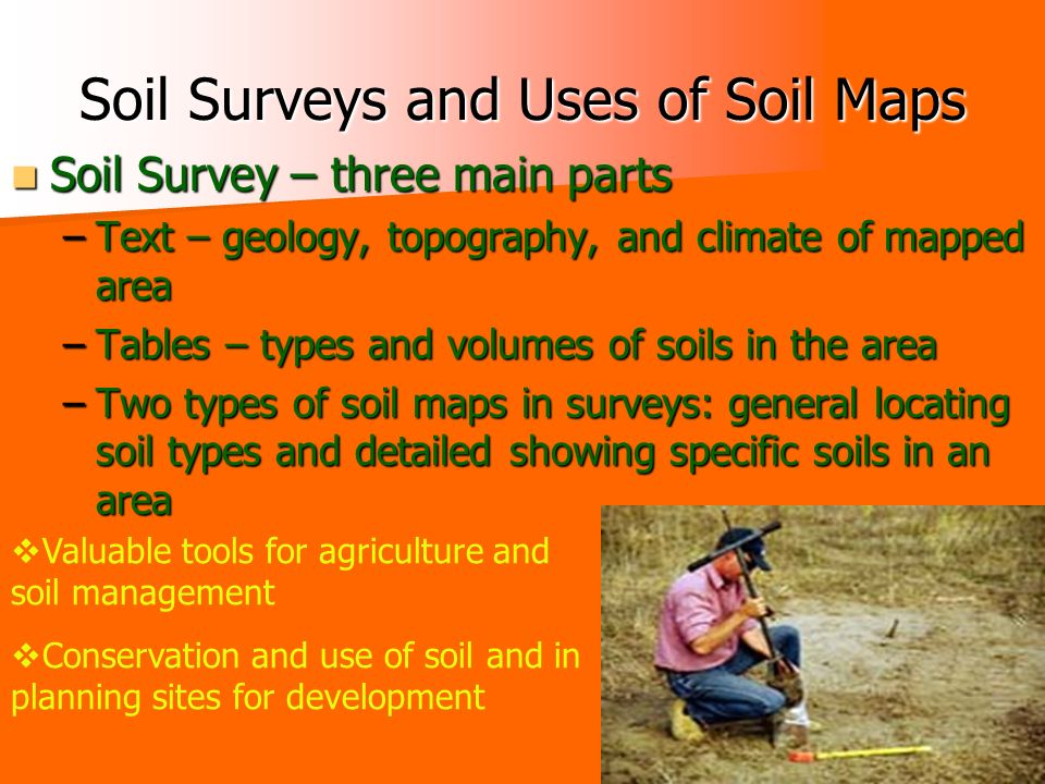 Types of maps chapter 3 section 3 ppt download for Different types of soil and their uses