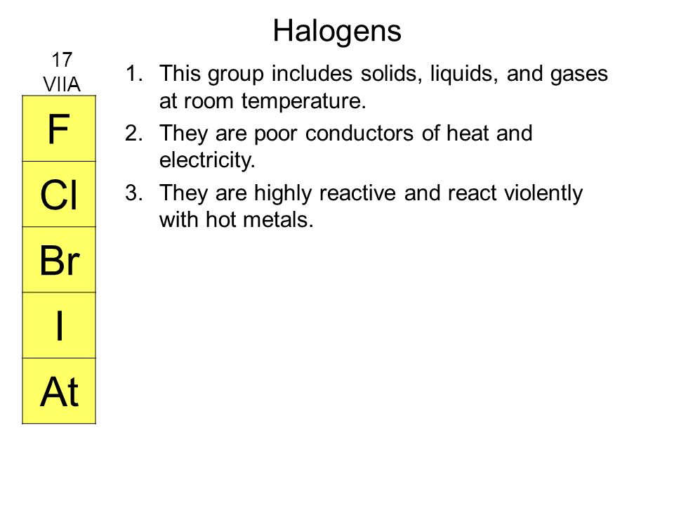 Which Gases Are Room Temperature