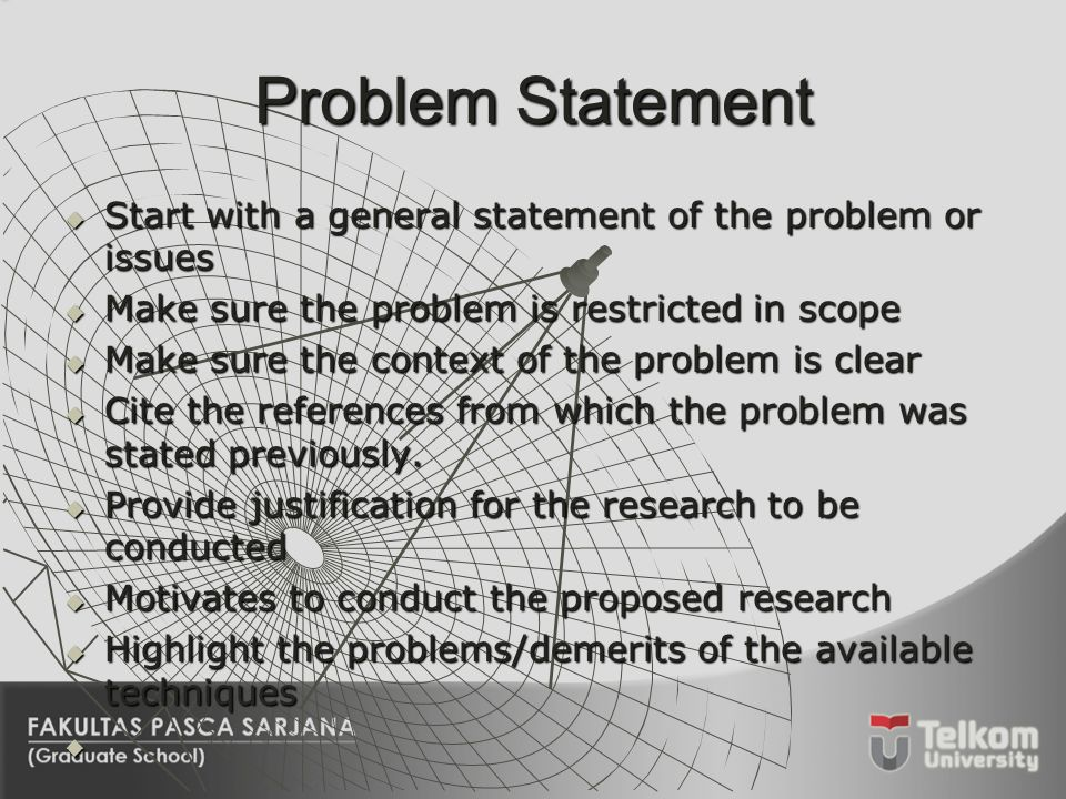 thesis statement of the problem copy A thesis statement generally appears at the end of the introductory paragraph it tells your readers what you're writing about and tells your readers your opinion of the topic the thesis essentially serves as a mini outline for the paper.