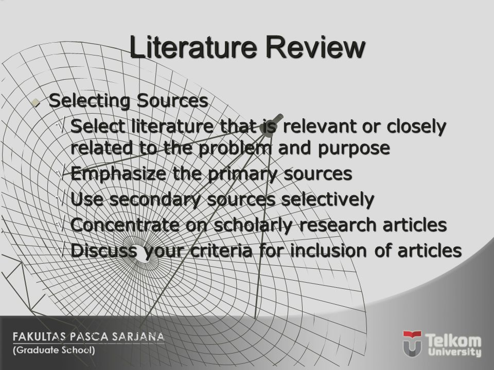 Discuss the importance of review of related literature in educational research