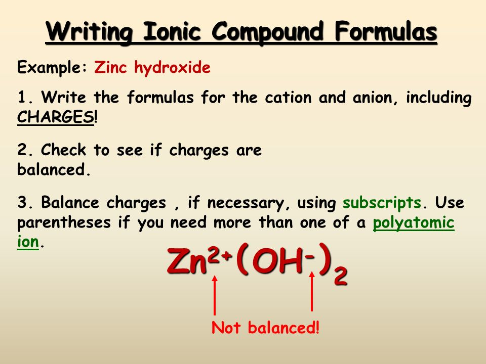 Cigidon Writing Formulas For Binary And Ternary Ionic Compounds