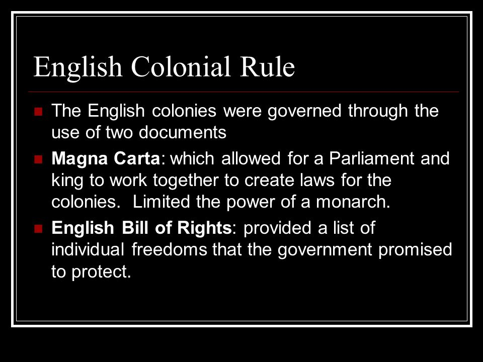 english colonies and colonial power Colonialism is the policy of a foreign polity seeking to extend or retain its authority  over other  christian missionaries were active in practically all of the colonies   collins english dictionary defines colonialism as the policy and practice of a  power  in fact, everywhere where colonial powers established a consistent and .