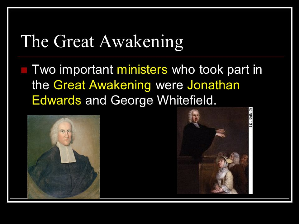 important sermon during the great awakening Sermon: the great awakening - romans 1, joel 2  so that tonight's prayer summit becomes too important for you to miss  his wrath is so great and our .