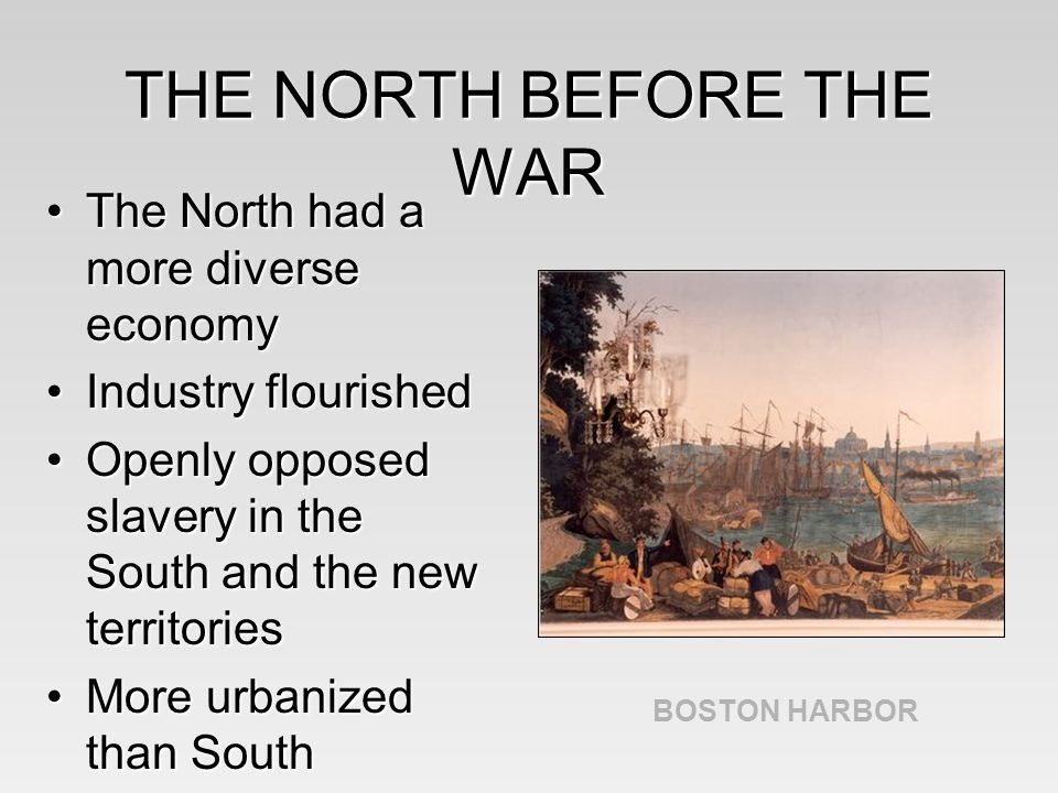 the diverse causes of the civil war Causes of the civil war  cities, a diverse population, and favored the politics of  the republican party which supported the abolition of slavery.