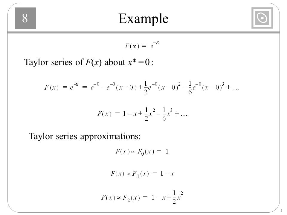 Taylor Series Examples Gallery Example Cover Letter For Resume