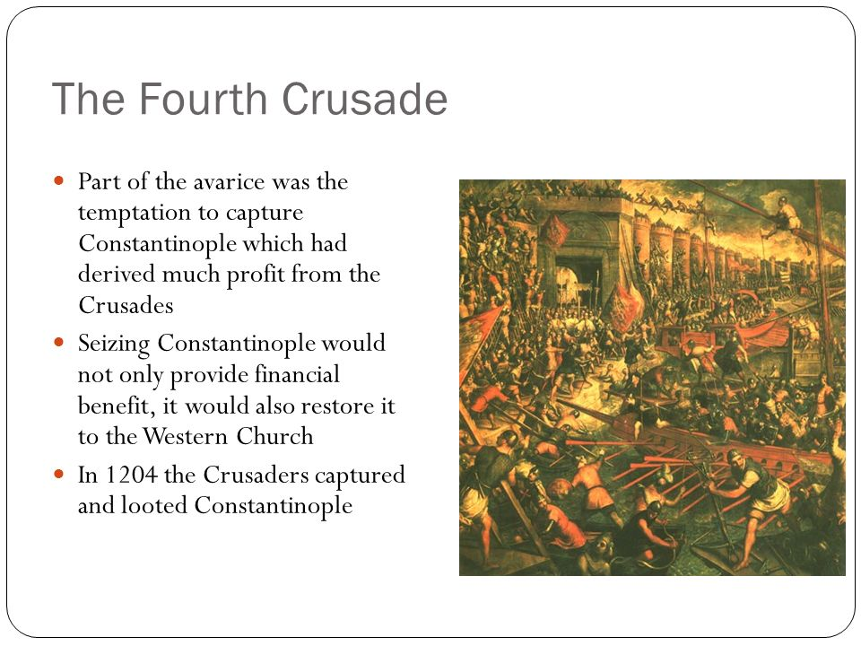 an introduction to the reasons for the failure of the third crusade The third crusade, proclaimed by pope gregory viii, set out after jersusalem was taken this crusade failed to regain the city however, crusaders did manage to conquer some of saladin's holdings .