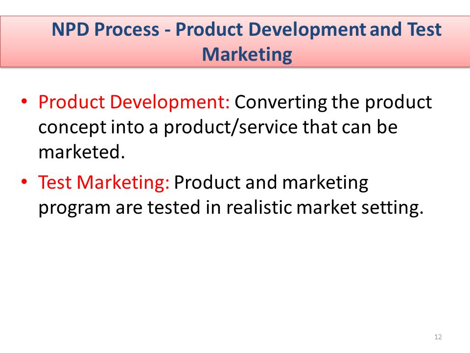 New product development npd process ppt video online for Product design marketing