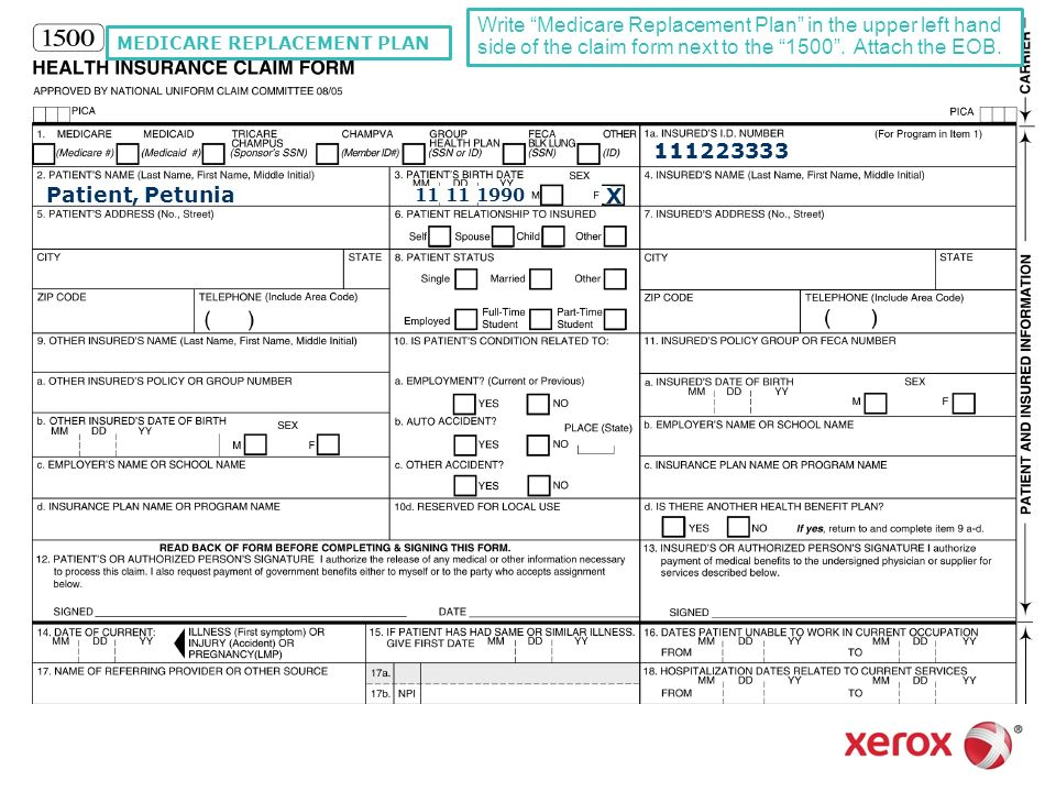 Medicare Form Irs Approved      Tax Forms Use Form