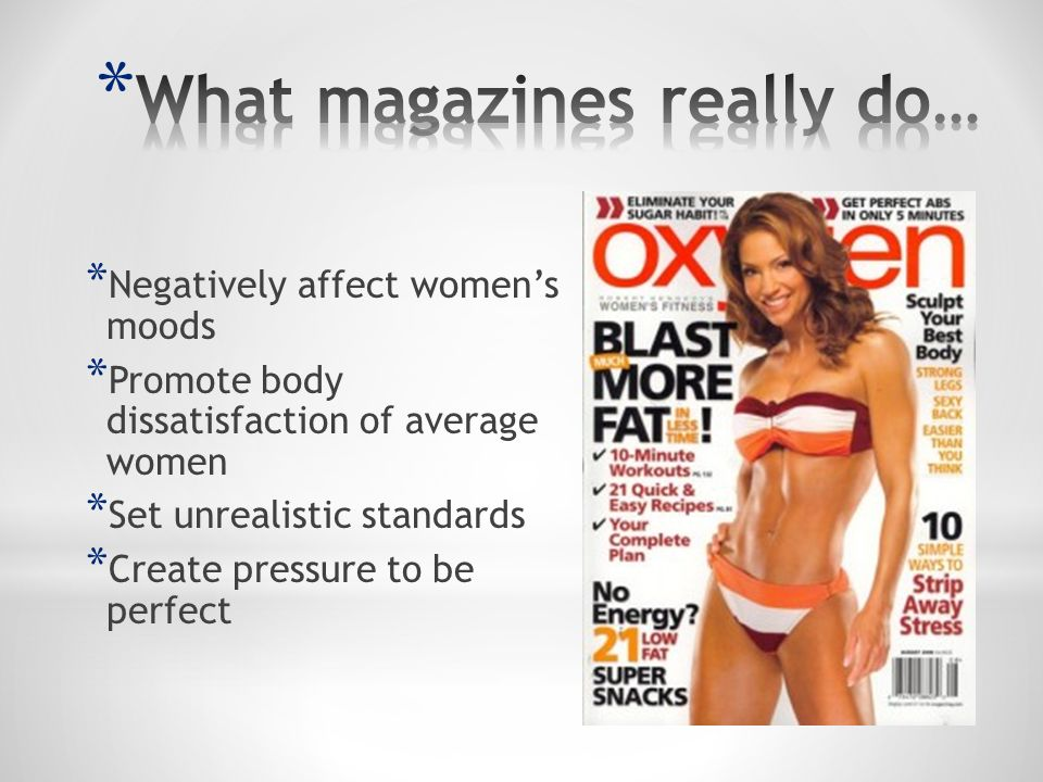 What magazines really do…