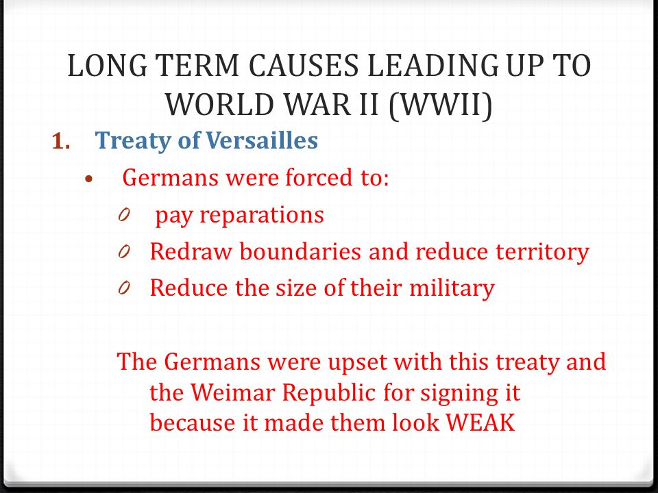 an introduction to world war i I was very excited to be full time teaching those classes the lesson is an introduction to world war ii  introduction to world war ii: advanced and standard classes.